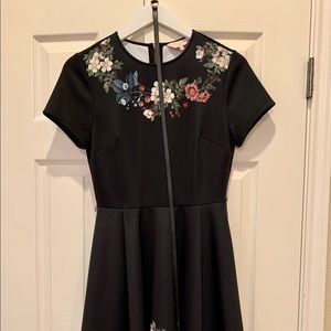 CHESTNA Oracle skater Ted Baker dress